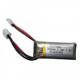 Batterie 7.4V 300mAh
