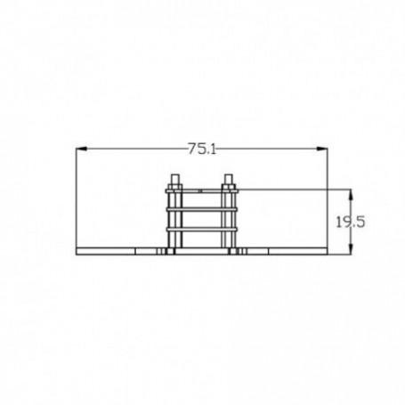 Hubsan H502 set d'hélices