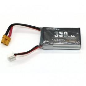 Battery Lipo 2S 7.4V 350mAh 60C