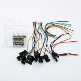 Cables connectors set